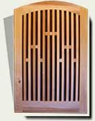 Wood Garden Gates #57