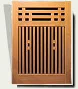 Wood Garden Gates #68