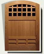Wood Garden Gates #70