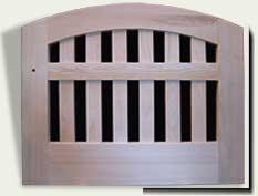 wood fence gate #75