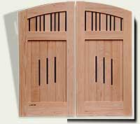 Custom Wood Garden Gate #76