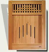 custom wood garden gate #94
