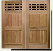 custom wood garden gate #98