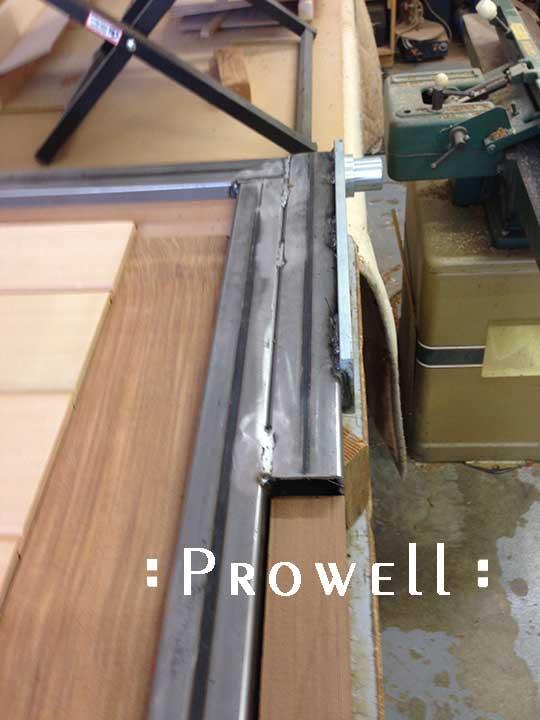 Mounting automation motor pivot plates to wood drive gates, prowell