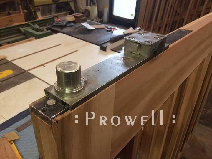 In-Ground motor-plates for driveway gates, prowell