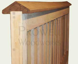 gable caps for fence panels
