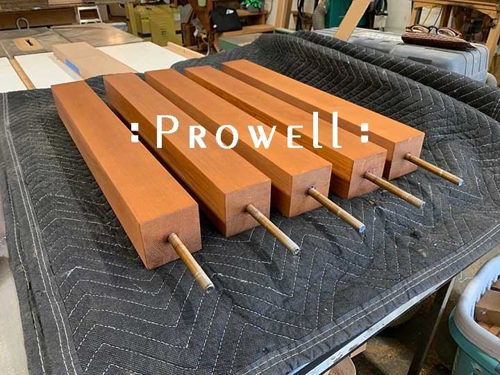 wood posts for only panels