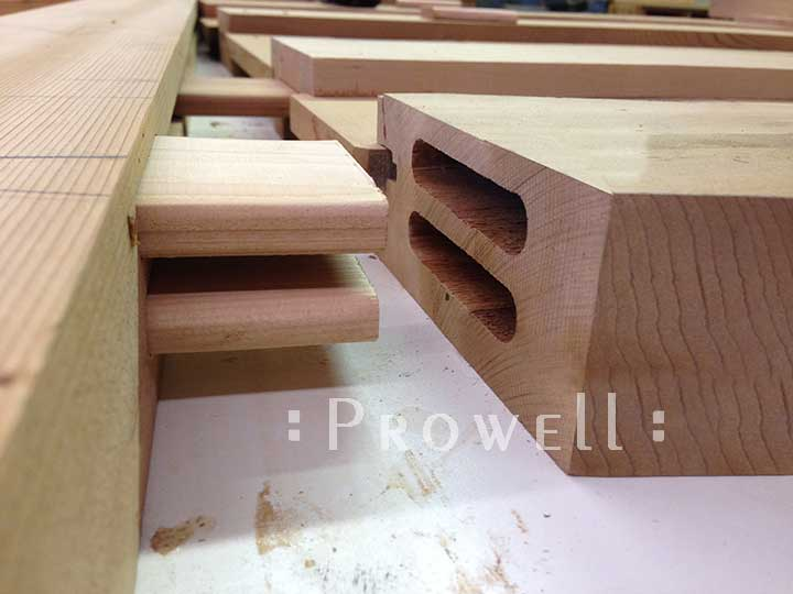 How to build a wood gate with Prowell's joinery #11
