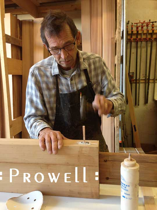how to build a garden gate with complex joinery, from Prowell