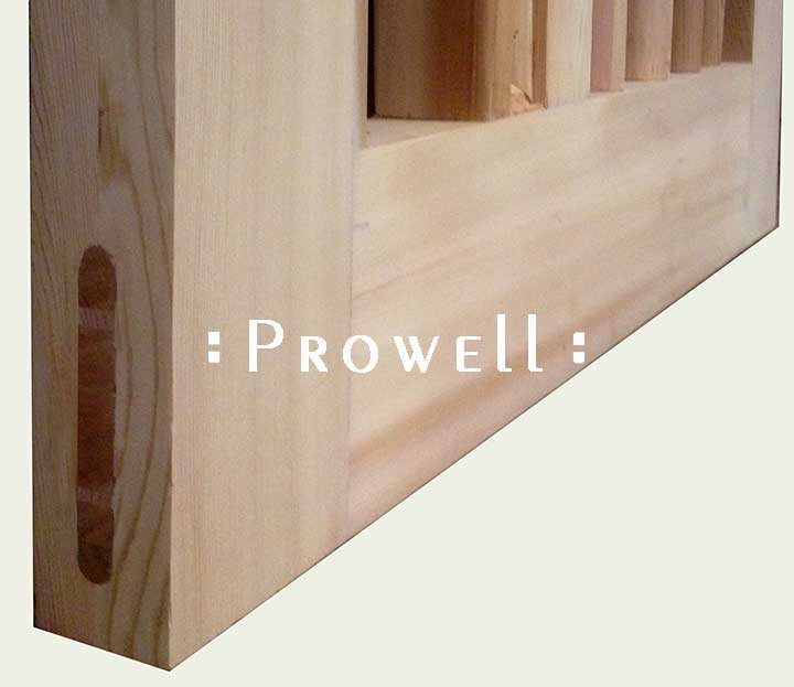 Full tenons for building a garden gate by Prowell
