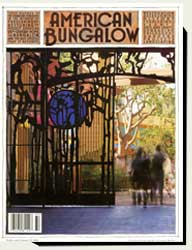Prowell's wood gates in American Bungalow magazine 2002