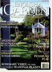 Prowell's wood garden gates in English Garden magazine 1998