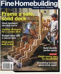 how to build wood garden gates in Fine Home building magazine 2016