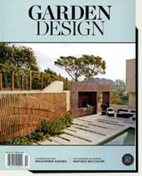 prowell's wood garden gates in Garden Design magazine 2015