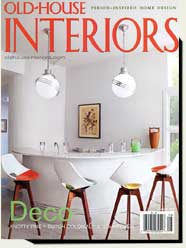 Prowell's garden gates in Old House Interiors magazine 2008