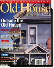 prowell's wood garden gates in Old House Journal magazine 2007