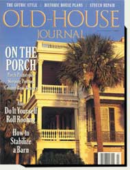 Prowell wood gates in Old House Journal magazine 1995