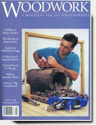 prowell in Woodwork Magazine 2000