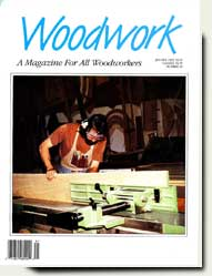 prowell in Woodwork magazine 1993