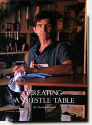 Creating a Trestle Table by prowell, Woodwork Magazine 1989