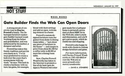San Francisco Chronicle 1997