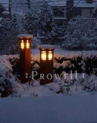lighted columns