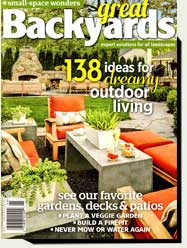 prowell wood gates in Great Backyards magazines 2015