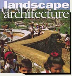 Prowell'slighted columns in Landscape Architecture magazine 2006