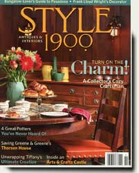 Prowell's wood gates in Style 1900 magazine 2011