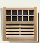 Horizontal wood gate #16
