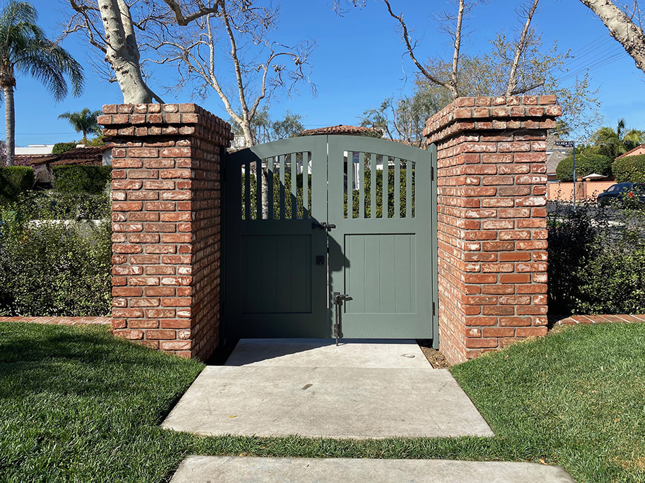 Wood garden gates #7-25 in los angeles
