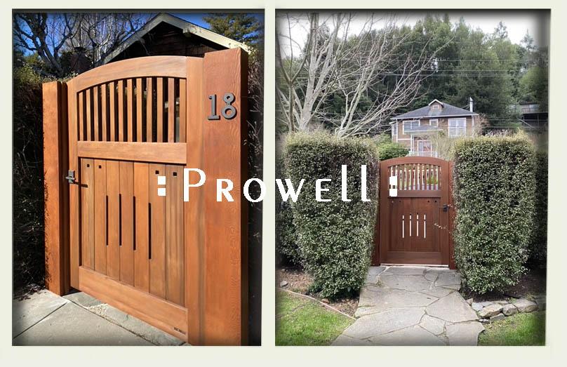 HOUSE GATE DOOR #7-25 in Marin county, California