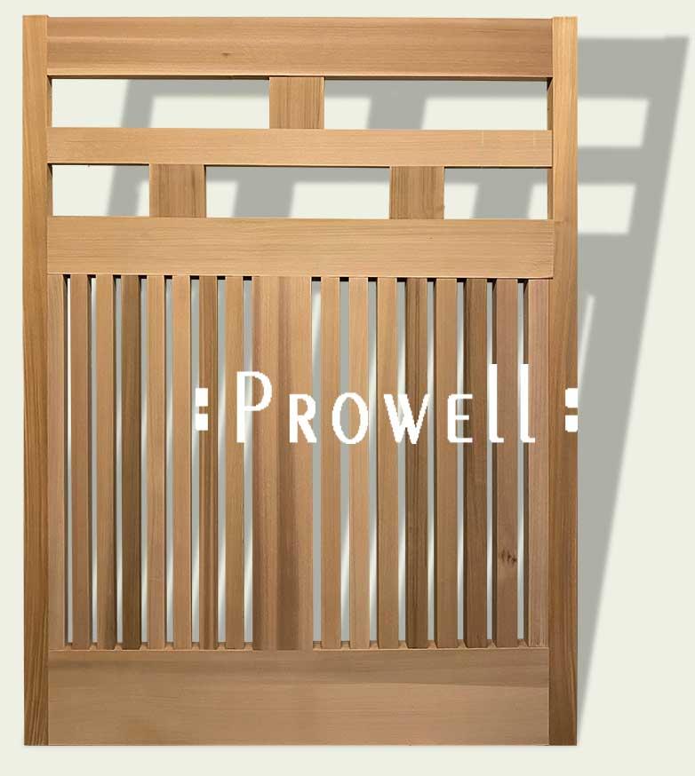 cropped image showing wood fence #15-1