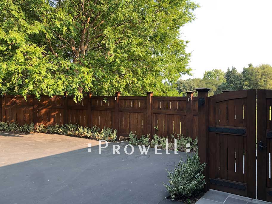 Site Photo showing fence #1-22 in palo alto, california